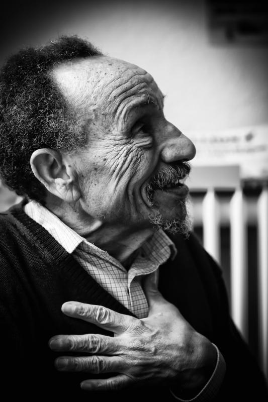 annuaire photographes suisse romande, Pierre Rabhi portrait - http://www.lhumen.ch - Audrey de Carouge