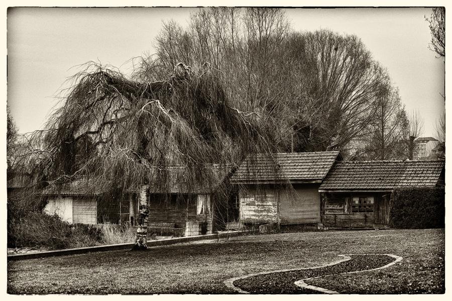 annuaire photographes suisse romande, Cabanes de pêcheurs d'Estavayez-le-Lac - http://www.2point8.ch - 2point8 de Bercher