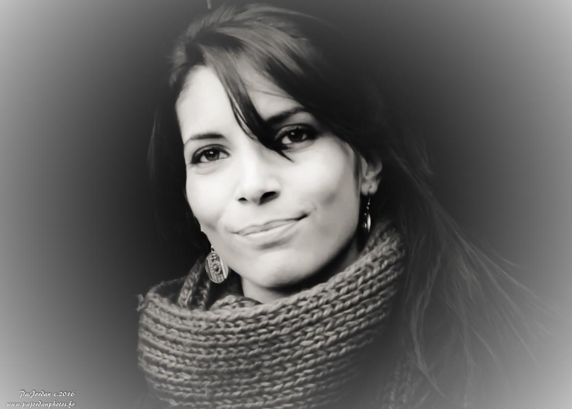 annuaire photographes suisse romande, Marion portrait BW - http://pajordanphotos.jimdo.com/ - Pascal de COLLONGES SOUS SALEVE