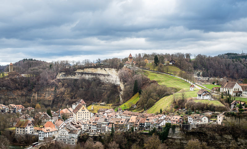 annuaire photographes suisse romande, Paysage hivernal sans neige - http://philippe.belazp.com/ - Le Meuh de Courtepin
