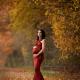 Séance photos de grossesse en extérieur, en campagne genevoise avec ces magnifiques couleurs d'automnes. Robe disponible pour votre séance - nathaliefontana de Genève. Annuaire photographe