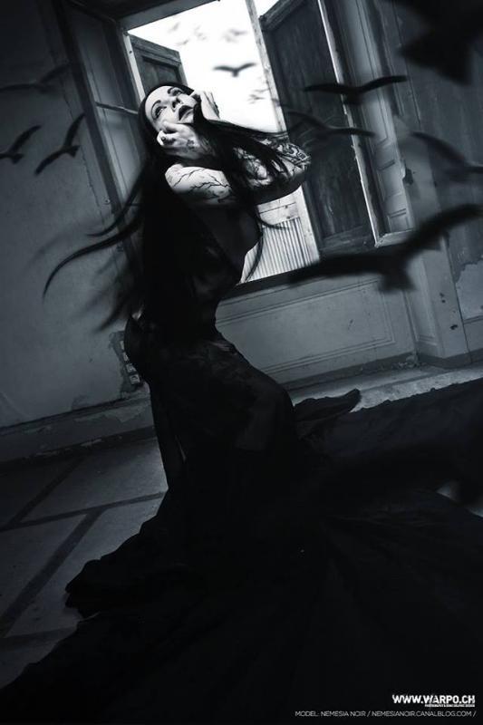 Nemesis : gothique sombre, www.warpo.ch, annuaire photo modele