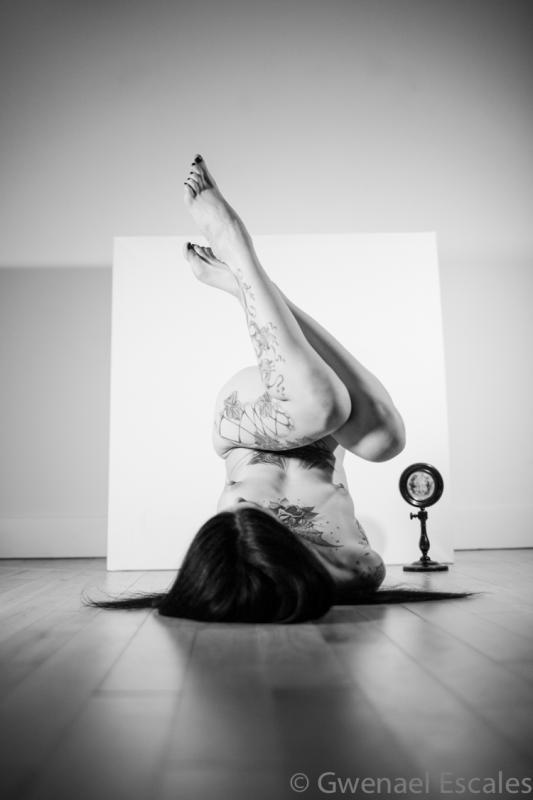 Nemesis :  noir et blanc, ns:Gwenäel Escales, annuaire photo modele